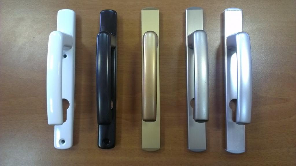 Ручки на ПВХ-окна и балконные двери на любой цвет и вкус