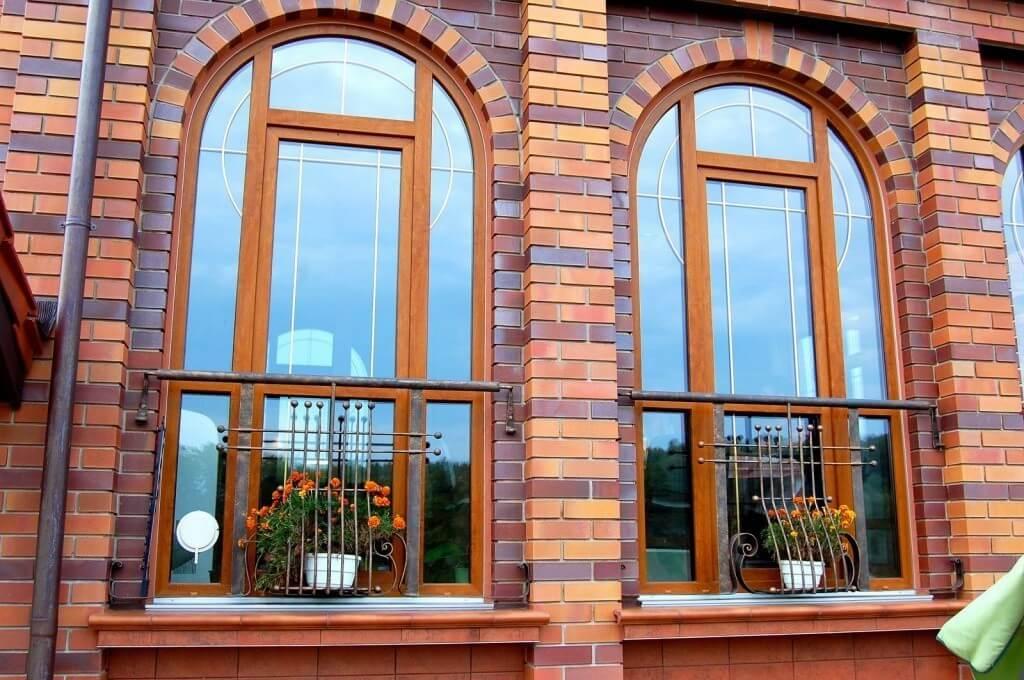 Декоративные элементы ПВХ-окна